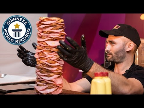 Most Layers in Sandwich- Guinness World Records