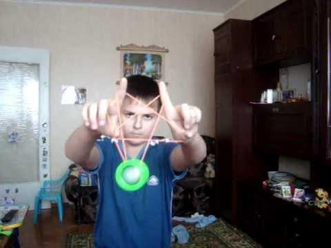Трюки на йо-йо мачете.