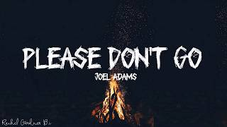 Joel Adams - Please Don't Go (Lyrics)