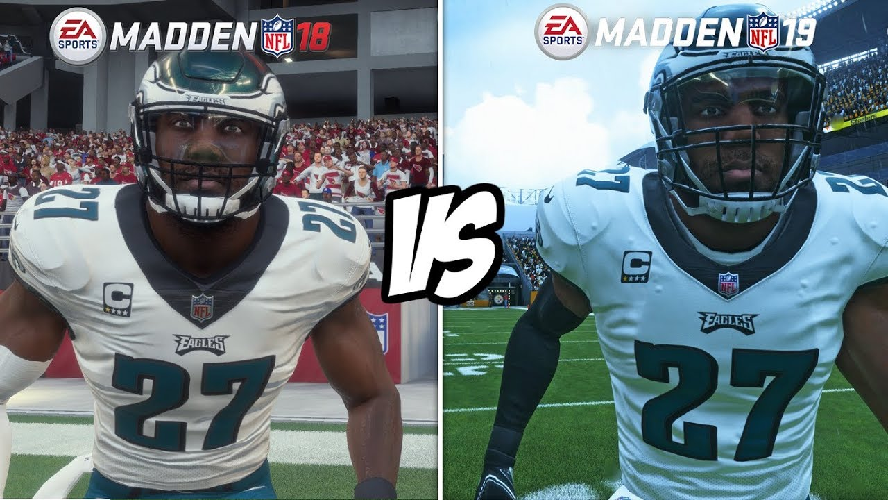 It's Not Even Close! Madden 19 Graphics vs. Madden 18!