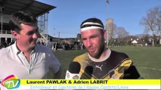Rugby à Linxe 26 Février 2016