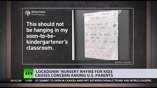 'Go behind desk & hide': Controversial 'Lockdown' nursery rhyme sparks backlash