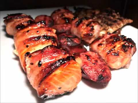 Bacon Wrapped Salmon Grilling Recipe ~ Chef@Home