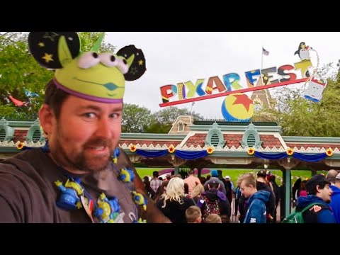 Pixar Fest Takes Over Disneyland - Sold Out Merchandise / Construction Updates