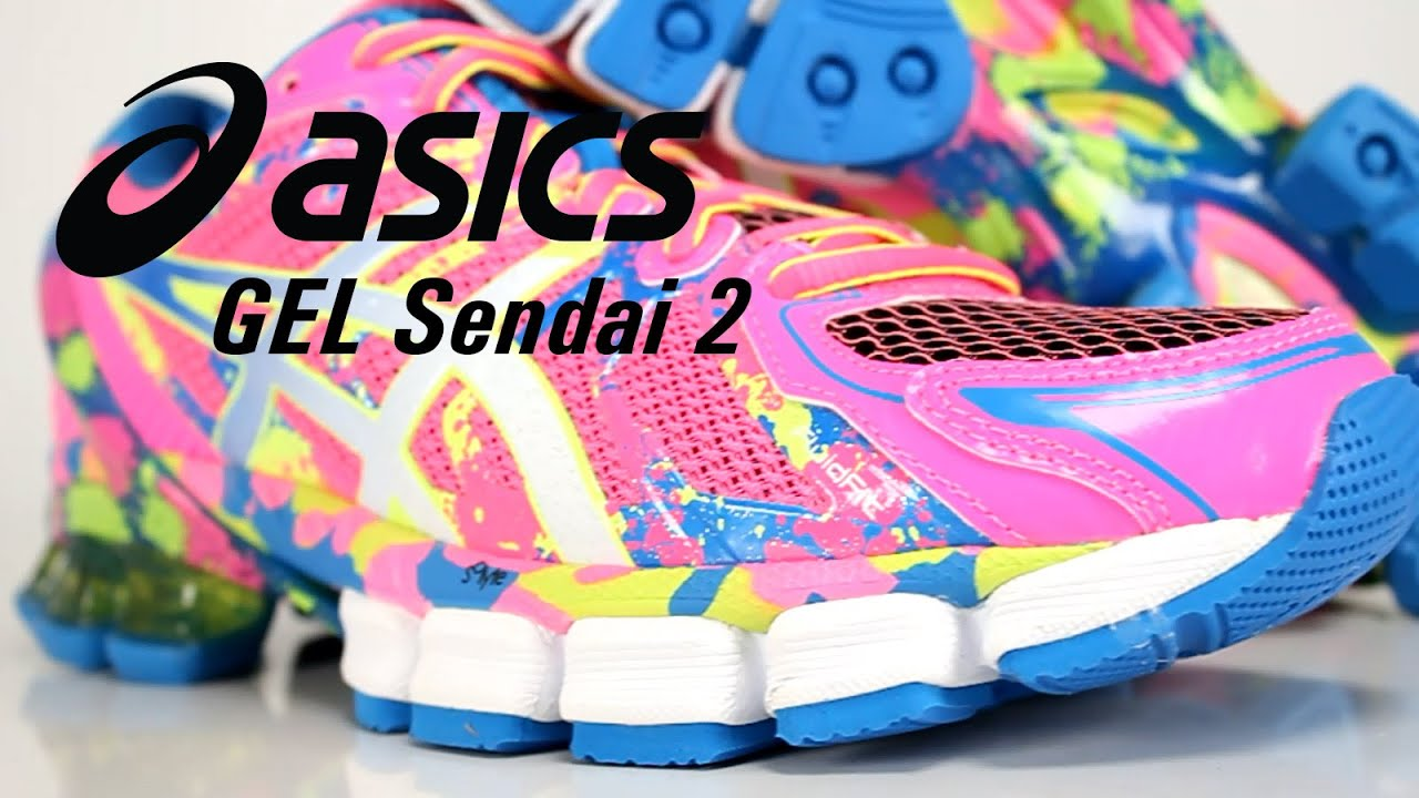 Tenis Asics Gel Sendai 2 Feminino - Lojas FREECS - Full HD - YouTube cb1cc4b953