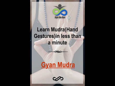 How To Do Gyan Mudra | Yoga For Mental Focus | Hast Mudra In Meditation