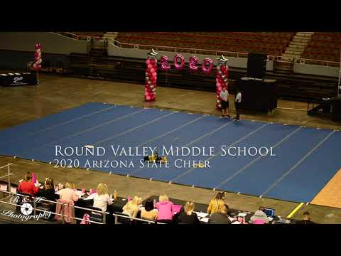 Round Valley Middle School at 2020 Arizona State Cheer Competition