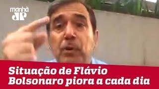 Situação de Flávio Bolsonaro se agrava a cada dia   Marco Antonio Villa