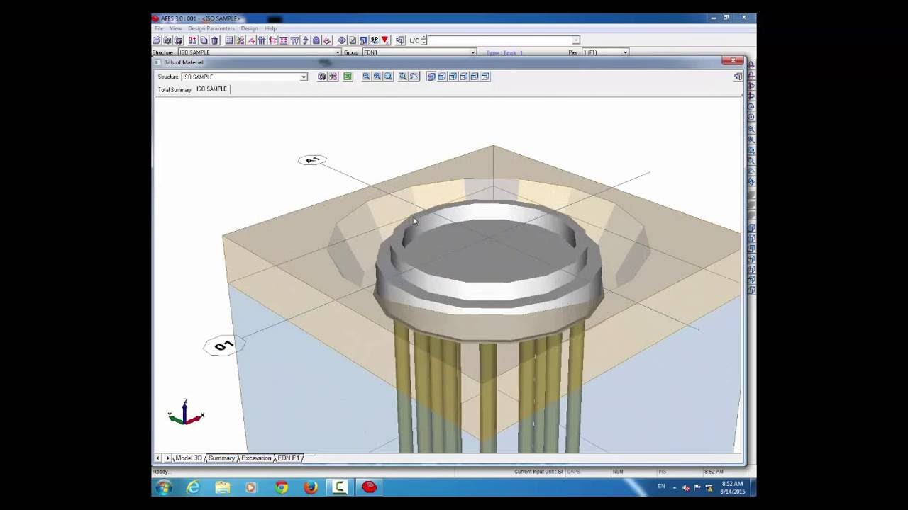 Afes Foundation Design Software Tank Foundation Design