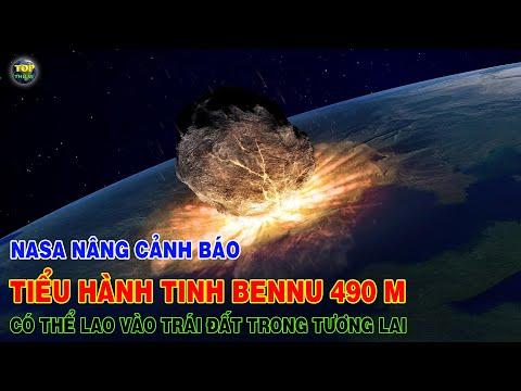 NASA nâng cảnh báo Tiểu hành tinh Bennu 490m có thể đâm vào Trái đất trong tương lai | Top thú vị |