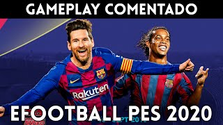 GAMEPLAY español PES 2020 (PS4, Xbox One, PC) Jugamos con la VERSIÓN FINAL