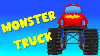 Truk monster kartun |  Permainan Anak Animasi Kartun | Video untuk anak-anak
