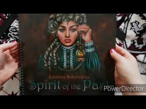 Spirit Of The Past Coloring Book By Katerina Bobarykina
