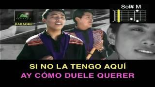 Pasion Andina Duele Amar Karaoke
