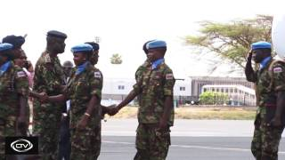 Kenyan soldiers start arriving after S.Sudan withdrawal
