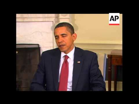 President Barack Obama says despite appalling comments from Iranian President Mahmoud Ahmadinejad th