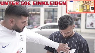 50€ FÜR KOMPLETTES OUTFIT ! Shopping Challenge