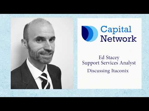 Capital Network's Ed Stacey on Itaconix PLC