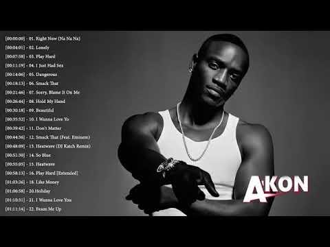 Download Akon só as melhores (áudio música) #Akon