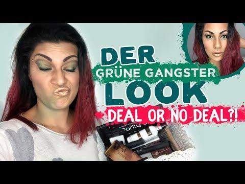 Grüner Gangster Look - Deal or No Deal?! Makeup aussortieren oder behalten?!