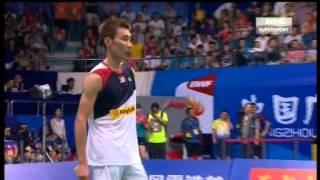 2013 Wang Lao Ji BWF World Badminton Championship MS Final [Lee Chong Wei vs Lin Dan]