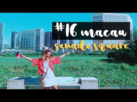 TRAVEL: Senado Square MACAU 마카오 澳门 | ANNYONG JESSICA #16