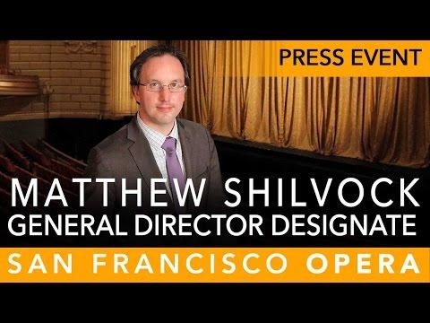 SF Opera NEW General Director Designate Announced + Q&A