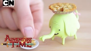 Adventure Time | Make a Clay Tree Trunks and Apple Pie! | Cartoon Network