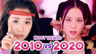 MOST VIEWED KPOP GIRL GROUPS MUSIC VIDEOS EACH YEAR