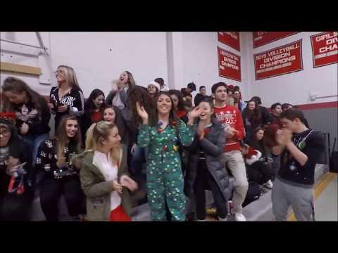 Cranston High School West 2018 Battle of the Fans
