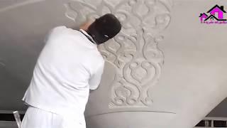 جبس مغربى وكيفية النحت والنقش / فنان من كوكب آخر