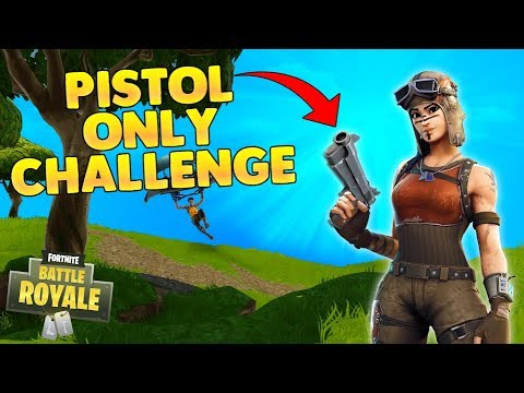 Fortnite Battle Royale - Pistol Challenge (Fortnite Victory Royale)
