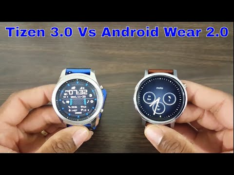 Can Android Wear 2.0 Compete With Tizen 3.0? Moto 360 2 Vs Gear S3