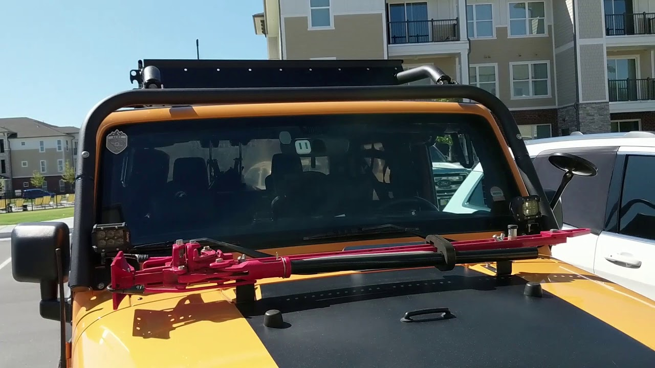 Kargo Master Sport Roof Rack and Roof Pac 'Review' - YouTube
