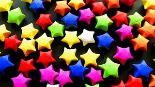 3D Origami Stern basteln mit Papier - Weihnachtssterne Deko basteln für Weihnachten