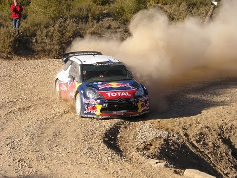 Test Loeb And Neuville With Citroen Ds3 Wrc