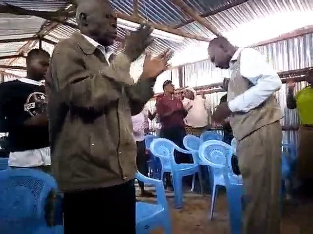 Worship to the LORD JESUS   WFF Kibera Slum Kenya