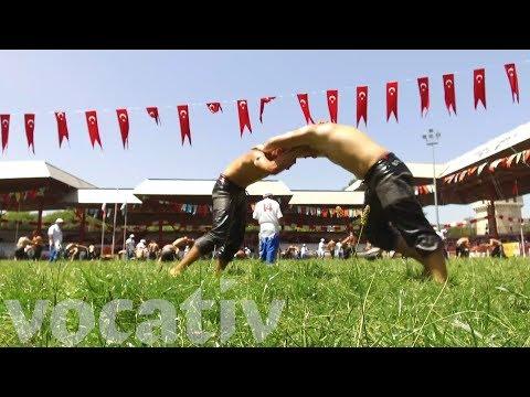 Turkey's Kırkpınar Oil Wrestling Tournament Dates Back Over 600 Year