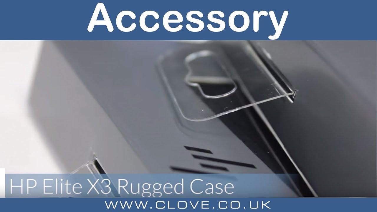 04c25bf3da4245 HP Elite X3 Rugged Case - YouTube