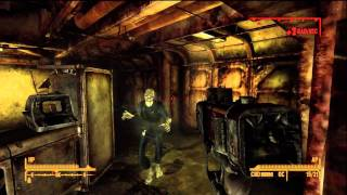 Fallout New Vegas Vault 34 Pulse gun location walkthrough (Veronicas quest)