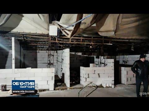 ТРК НІС-ТВ: Об'єктив 9 12 20 Незаконне будівництво на ринку Клаксон
