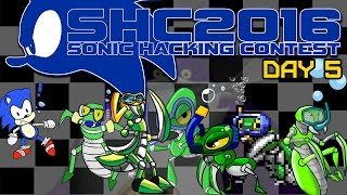 Johnny vs. Sonic Hacking Contest 2016 (Day 5)