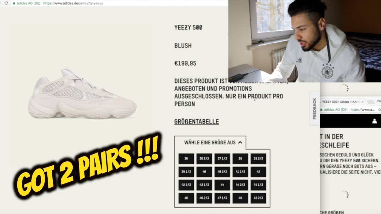 competitive price a8ac9 b6f95 *LIVE COP* ADIDAS YEEZY DESERT RAT 500