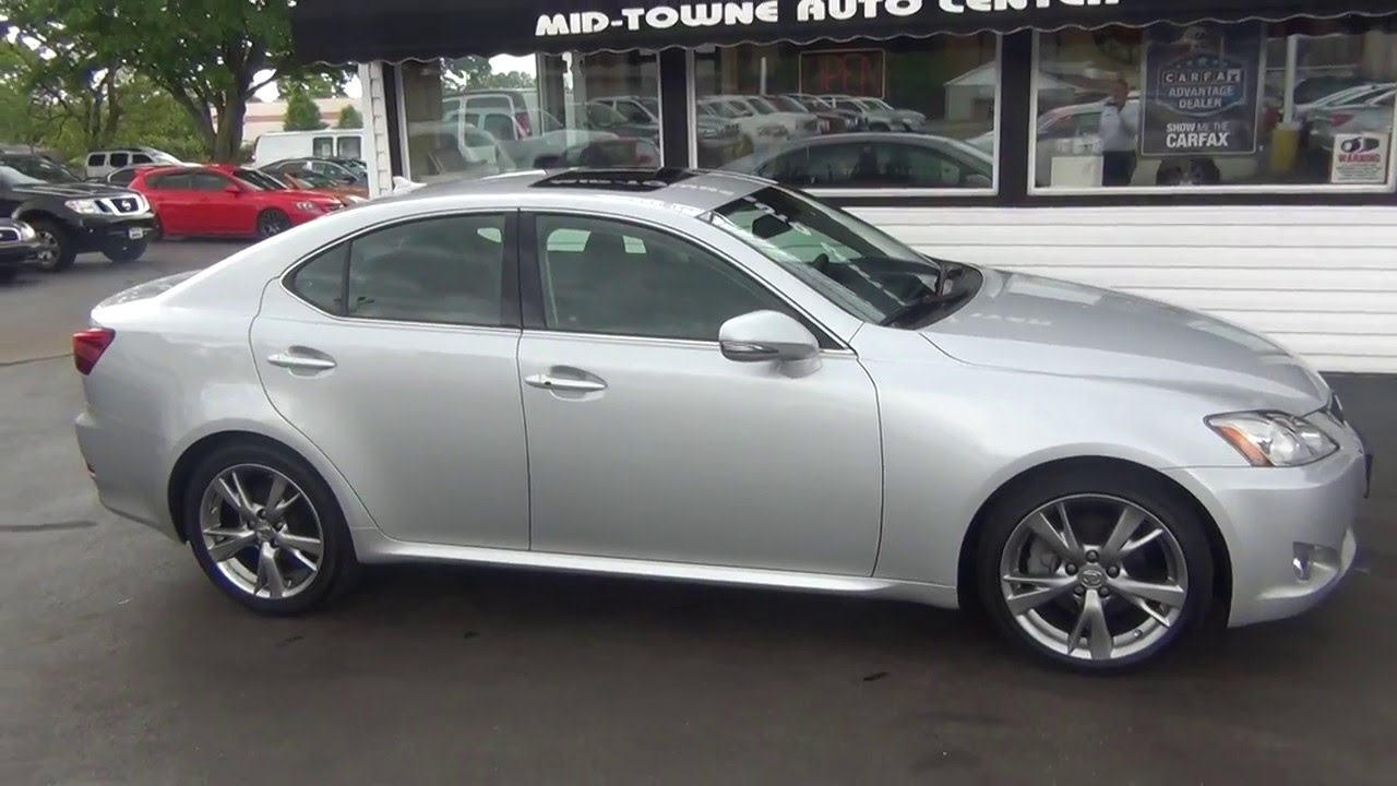 2010 Lexus IS 250 - YouTube