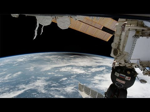 Total Solar Eclipse 2017 seen from the International Space Station