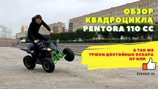 Обзор подросткового квадроцикла Motax Pentora 110 кубов Video