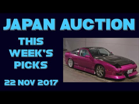 Japan Weekly Auction Picks 047 - 22 Nov 17