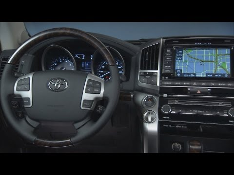 ? 2013 Toyota Land Cruiser - INTERIOR