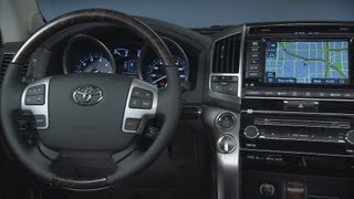 ► 2013 Toyota Land Cruiser - INTERIOR