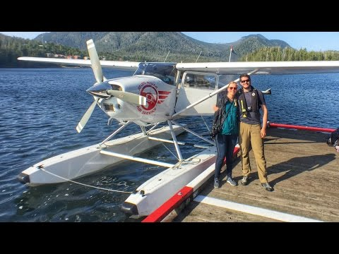 SEAPLANE from Tofino to Hot Springs Cove | Vancouver Island